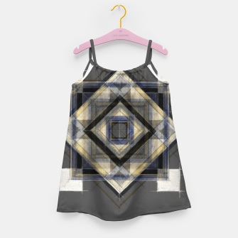 Thumbnail image of Hand Made Edited Pencil Geometry in Grey Girl's dress, Live Heroes