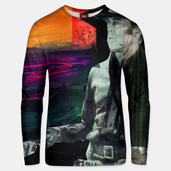 Thumbnail image of hejt stop Unisex sweater, Live Heroes