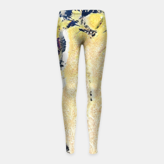 Thumbnail image of abstract 2 Girl's leggings, Live Heroes