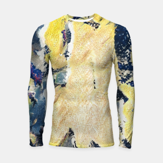 Thumbnail image of abstract 2 Longsleeve rashguard , Live Heroes