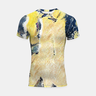 Thumbnail image of abstract 2 Shortsleeve rashguard, Live Heroes