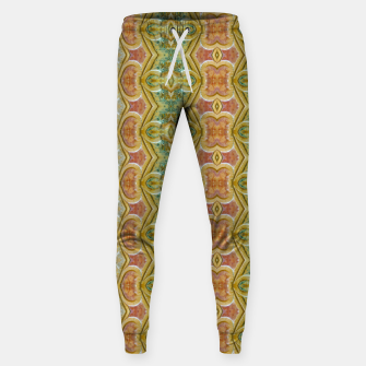 Miniaturka Vintage Ornate Geometric Pattern Sweatpants, Live Heroes