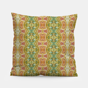 Miniaturka Vintage Ornate Geometric Pattern Pillow, Live Heroes