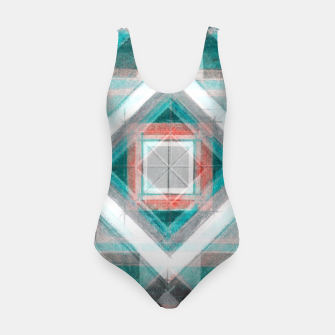 Miniature de image de Pencil Geometry in Light Blue and Red Swimsuit, Live Heroes