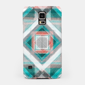 Miniatur Pencil Geometry in Light Blue and Red Samsung Case, Live Heroes