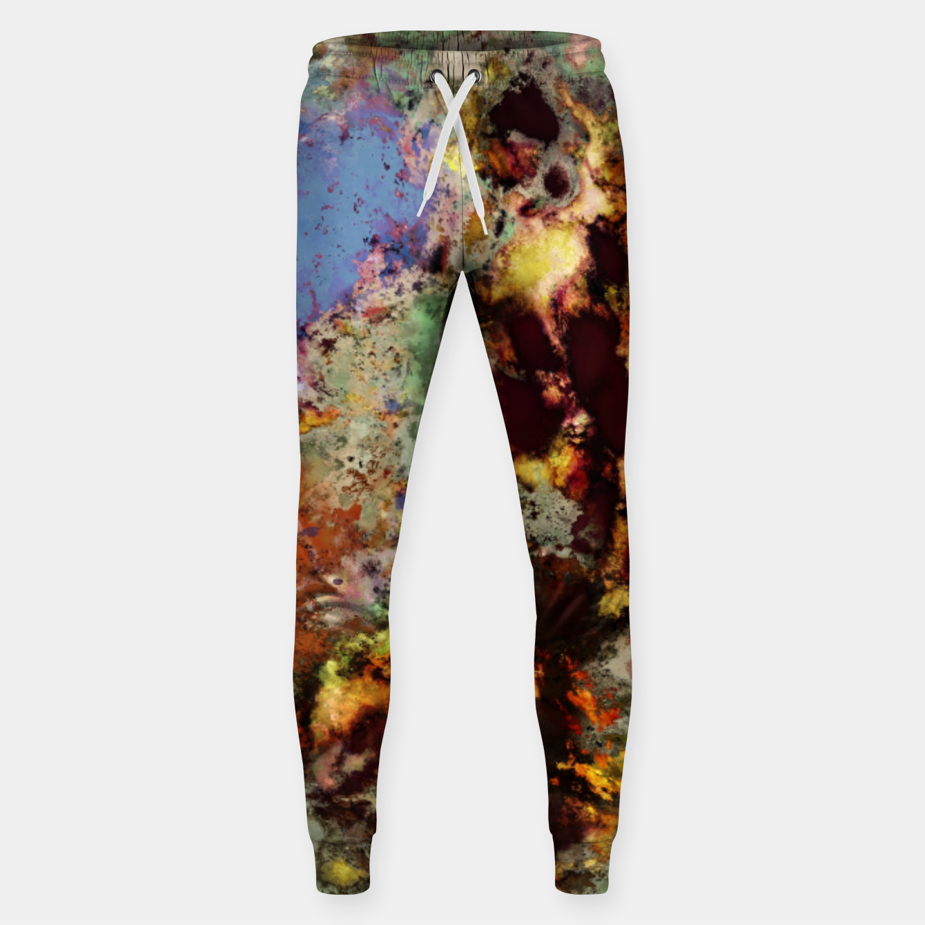 Image of Elegantly eroded Sweatpants - Live Heroes
