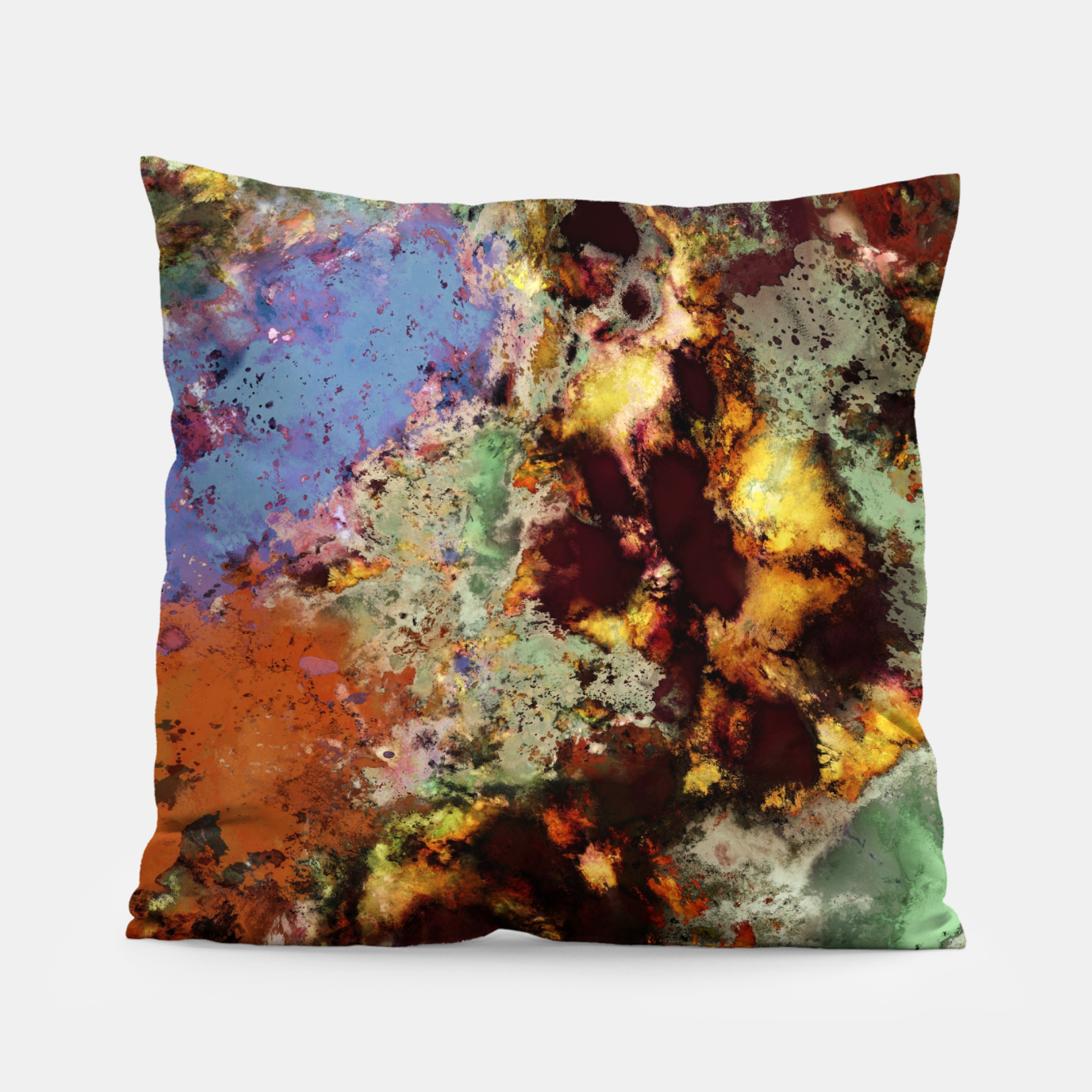 Image of Elegantly eroded Pillow - Live Heroes