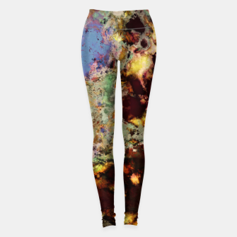 Miniaturka Elegantly eroded Leggings, Live Heroes