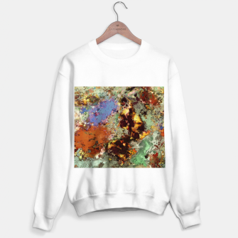 Miniaturka Elegantly eroded Sweater regular, Live Heroes