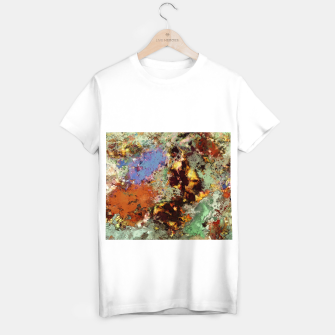 Miniatur Elegantly eroded T-shirt regular, Live Heroes