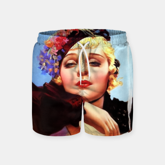 Thumbnail image of Portrait Of Anna Sten by Alberto Vargas Swim Shorts, Live Heroes
