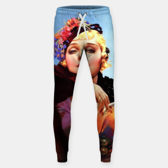 Thumbnail image of Portrait Of Anna Sten by Alberto Vargas Sweatpants, Live Heroes