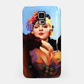 Thumbnail image of Portrait Of Anna Sten by Alberto Vargas Samsung Case, Live Heroes