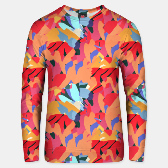Thumbnail image of Where Flowers Blossom, So Does Hope. #painting #abstract Unisex sweater, Live Heroes