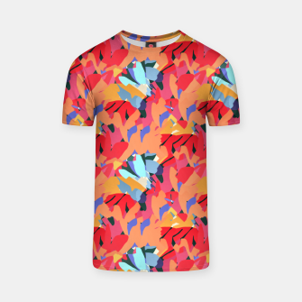 Imagen en miniatura de Where Flowers Blossom, So Does Hope. #painting #abstract T-shirt, Live Heroes