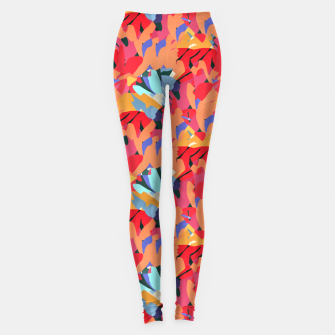 Miniatur Where Flowers Blossom, So Does Hope. #painting #abstract Leggings, Live Heroes