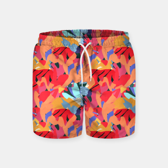 Miniaturka Where Flowers Blossom, So Does Hope. #painting #abstract Swim Shorts, Live Heroes