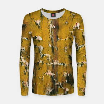 Thumbnail image of abstract 3 Women sweater, Live Heroes