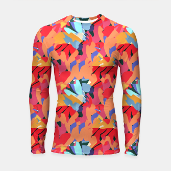 Thumbnail image of Where Flowers Blossom, So Does Hope. #painting #abstract Longsleeve rashguard , Live Heroes