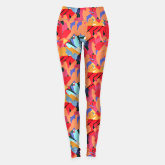 Thumbnail image of Where Flowers Blossom, So Does Hope. #painting #abstract Leggings, Live Heroes