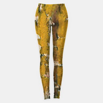 Thumbnail image of abstract 3 Leggings, Live Heroes