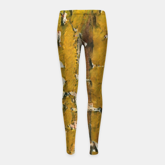 Thumbnail image of abstract 3 Girl's leggings, Live Heroes