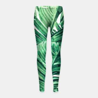 Thumbnail image of Tropical State of Mind  Girl's leggings, Live Heroes