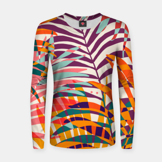 Miniatur Find Me Under The Palms Women sweater, Live Heroes