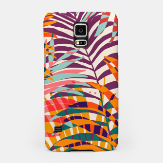Miniatur Find Me Under The Palms Samsung Case, Live Heroes