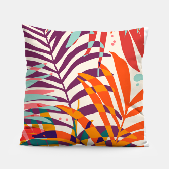 Thumbnail image of Find Me Under The Palms Pillow, Live Heroes