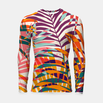 Thumbnail image of Find Me Under The Palms Longsleeve rashguard , Live Heroes