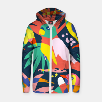 Flamboyant, Unashamed & Free Zip up hoodie thumbnail image