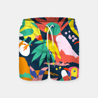 Thumbnail image of Flamboyant, Unashamed & Free Swim Shorts, Live Heroes