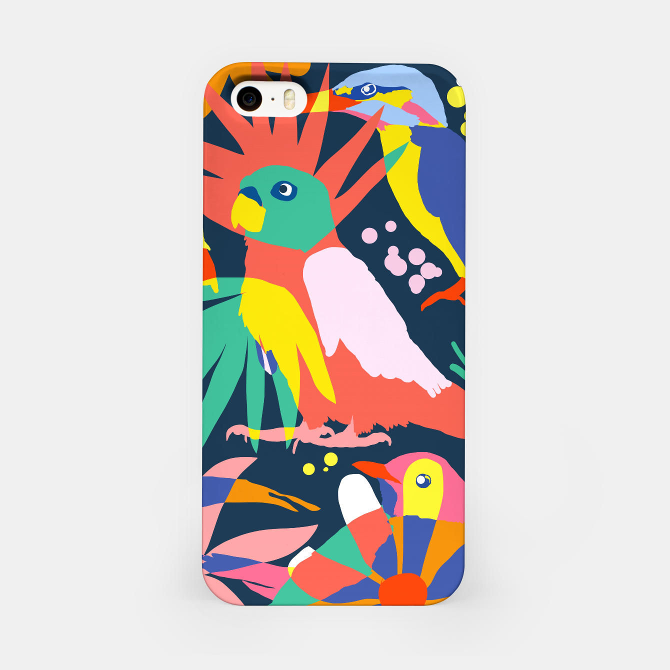 Image of Flamboyant, Unashamed & Free iPhone Case - Live Heroes