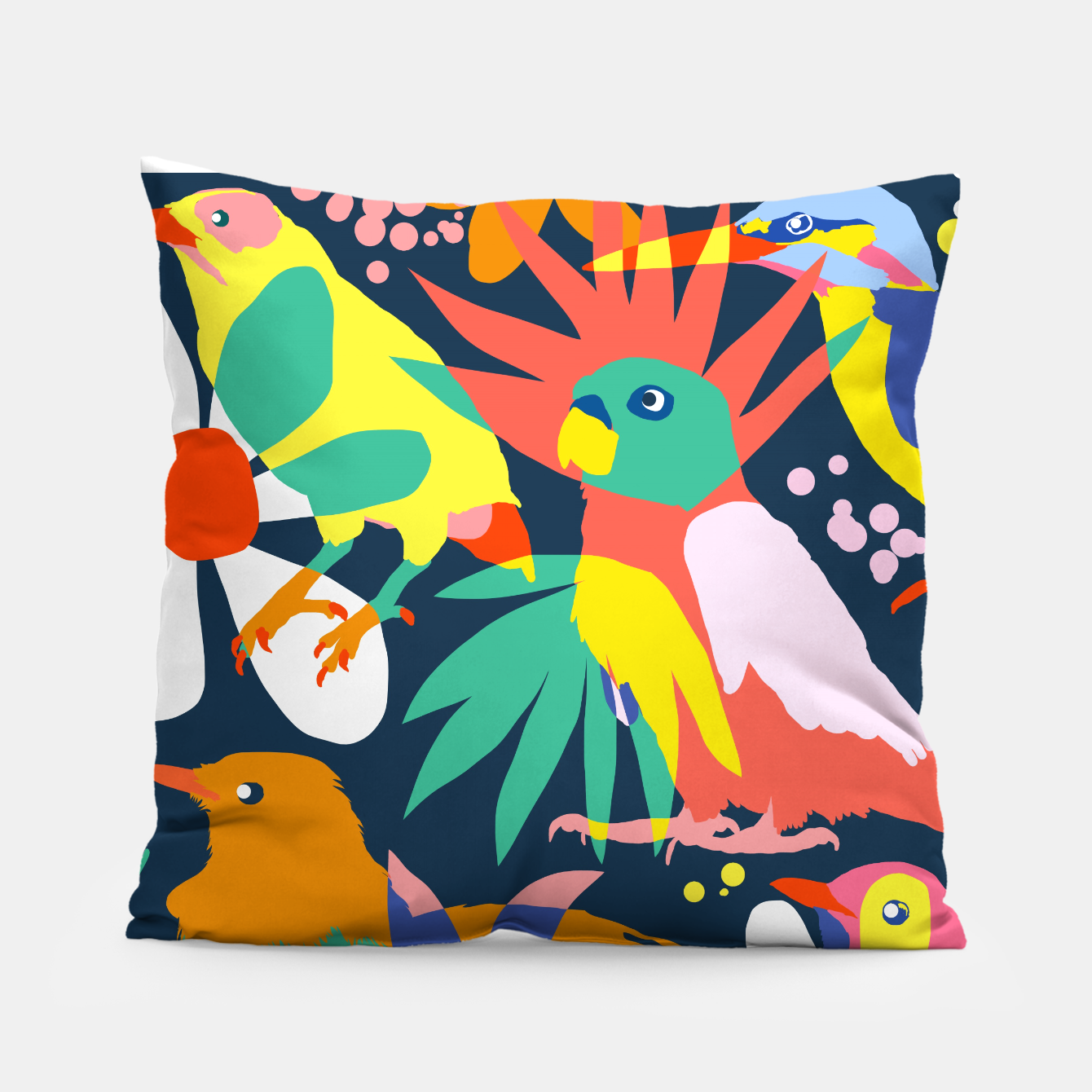 Image of Flamboyant, Unashamed & Free Pillow - Live Heroes