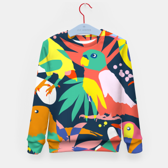 Flamboyant, Unashamed & Free Kid's sweater thumbnail image
