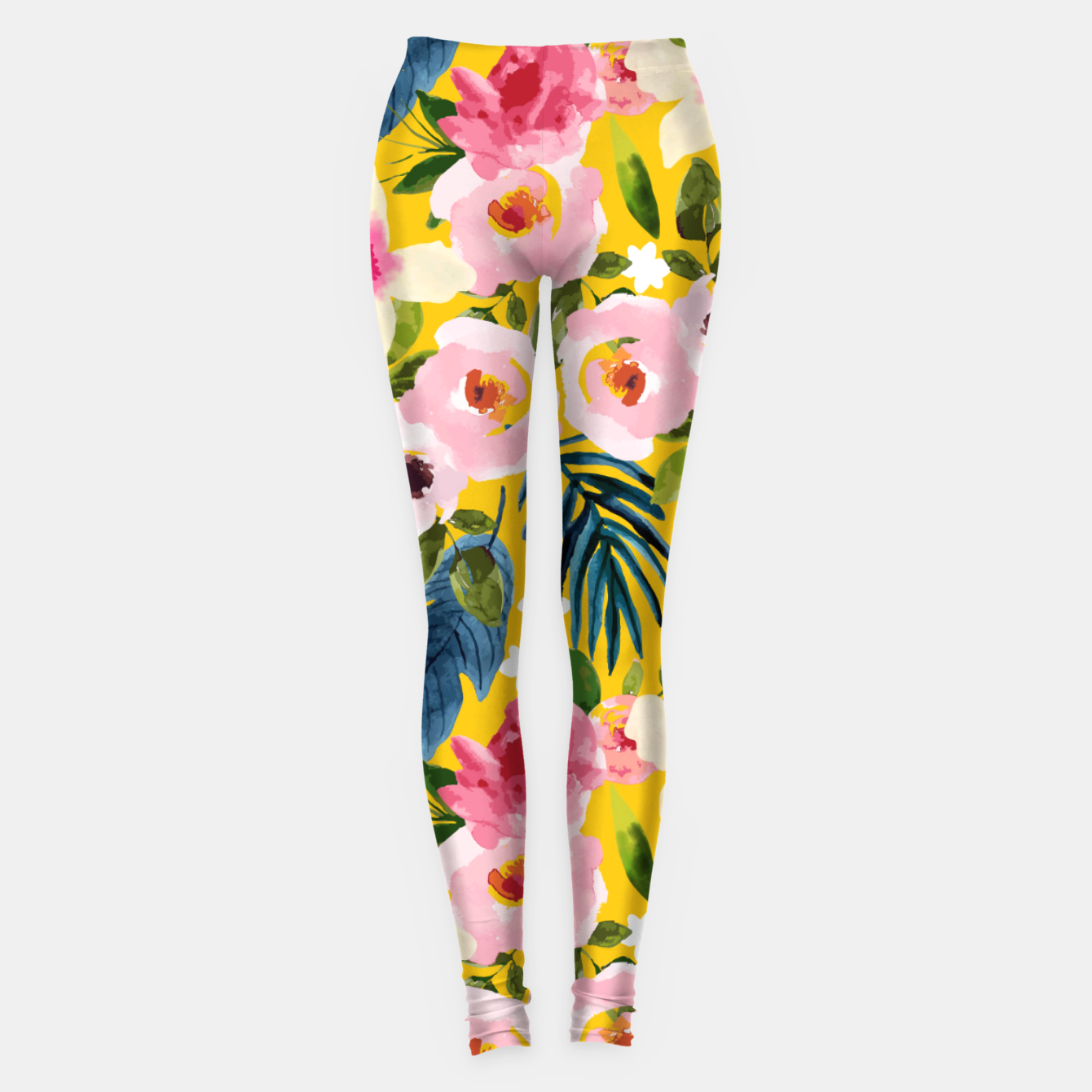 Image of No Winter Lasts Forever; No Spring Skips It's Turn Leggings - Live Heroes