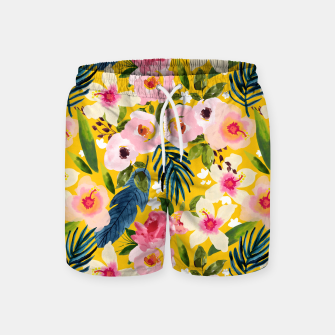 Miniature de image de No Winter Lasts Forever; No Spring Skips It's Turn Swim Shorts, Live Heroes
