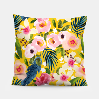 No Winter Lasts Forever; No Spring Skips It's Turn Pillow thumbnail image