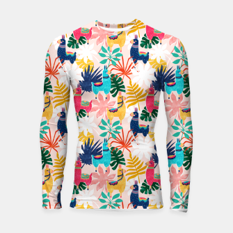 Keep Being Llamazing Longsleeve rashguard  thumbnail image