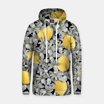 Lemons and Flowers Hoodie Bild der Miniatur