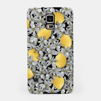 Miniatur  Lemons and Flowers Samsung Case, Live Heroes