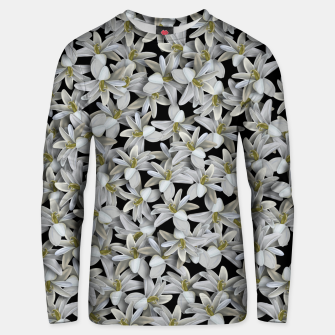 Miniatur Just Flowers Unisex sweater, Live Heroes