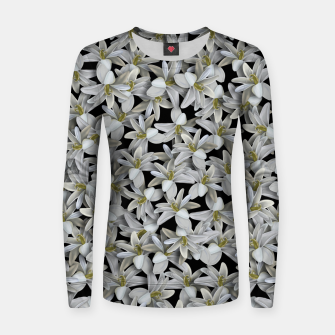 Miniatur Just Flowers Women sweater, Live Heroes