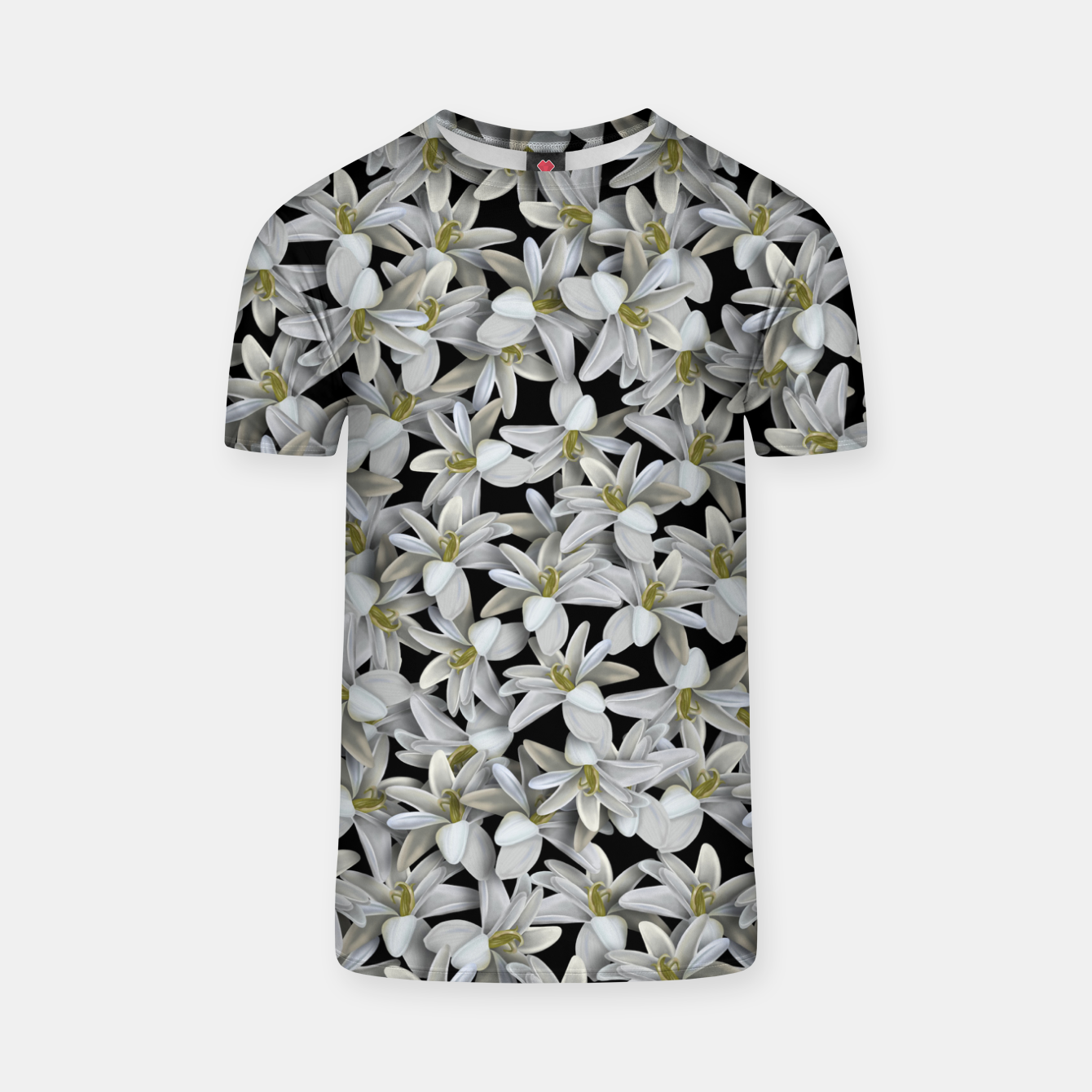 Image of Just Flowers T-shirt - Live Heroes