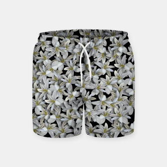 Miniatur Just Flowers Swim Shorts, Live Heroes