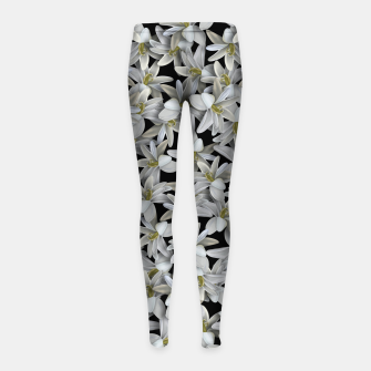 Miniatur Just Flowers Girl's leggings, Live Heroes