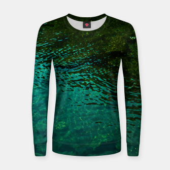 Miniatur Emerald Women sweater, Live Heroes
