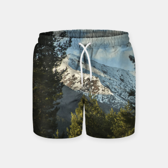 Miniatur MountainTales  Swim Shorts, Live Heroes