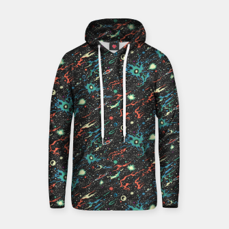 Miniatur Racing through the universe  Hoodie, Live Heroes